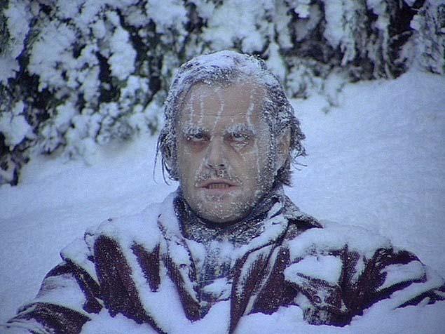 Frozen face - Jack Nicholson
