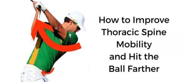thoracic spine golf swing