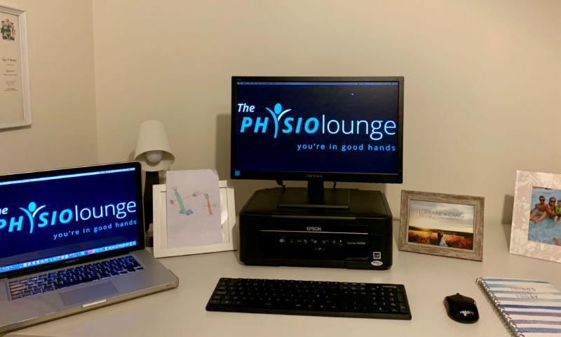 workstation set up